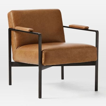 Google Image Result For Https Www Westelm Co Uk Site We Product 20images Highline Leather Chair H4576 20201 Living Room Chairs Modern Leather Chair Furniture Small living room chairs uk