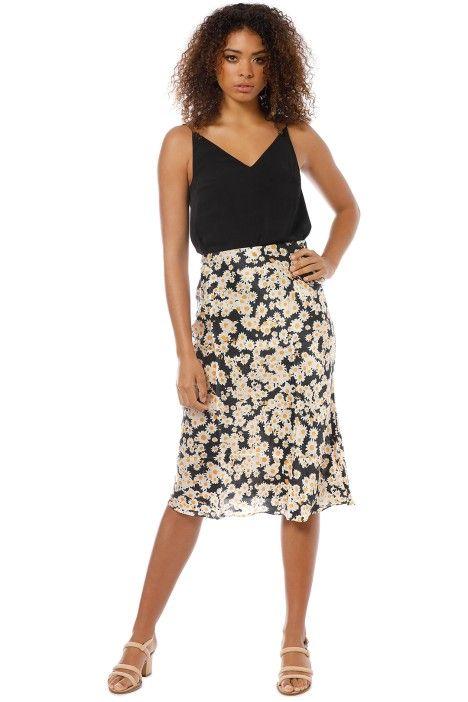 Stunning Heart Print Naomi Silk Skirt Multiple Sizes Read Desc Realisation