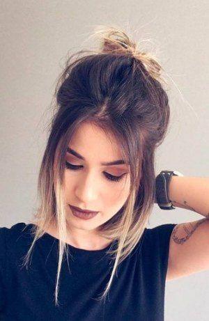 Hairstyles For Medium Length Hair Everyday Bangs 40 Trendy Ideas Hair Styles Shoulder Length Straight Hair Medium Length Hair Styles