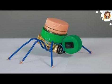 530644ba1d1 Barata elétrica (mini robô caseiro) (experiência)