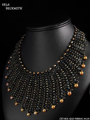 Petersburg Chain Necklace, Freshwater Pearls and Swarovski Crystals, Be