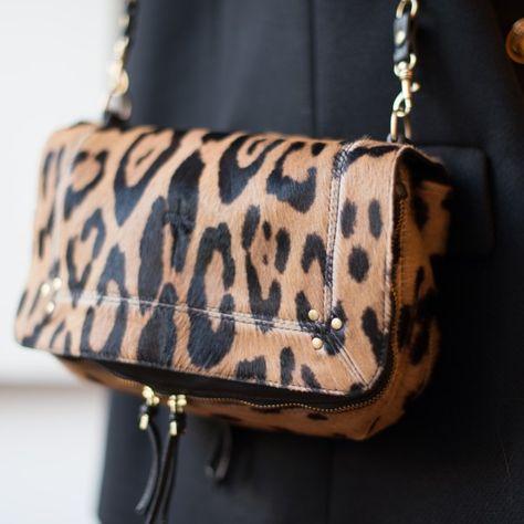 Bobi Leopard by Jérôme Dreyfuss La touche léopard avec du blanc ou du noir