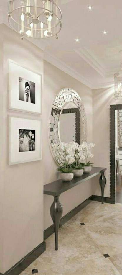 House Entrance Way Woods 49 Ideas House Entrance Mirror Interior Trendy Living Rooms