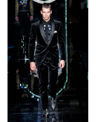 Versace velvet tux-work it!
