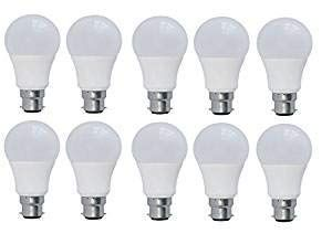 Urban King 9 Watts B22 Led Cool White Bulb Pack Of 10 Home And Kitchen Indoor Lighting Led Bulbs Light Bulbs Best News And Deals In 2020 Led Bulb Bulb Led