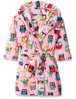 Little Blue House by Hatley Kids Fuzzy Fleece Robe