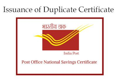 Rulings For Issuing Duplicate Nsc Certificate At Post Office