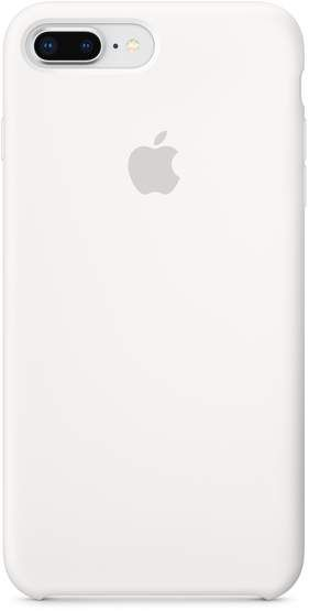Iphone 8 Plus 7 Plus Silicone Case White Silicone Iphone