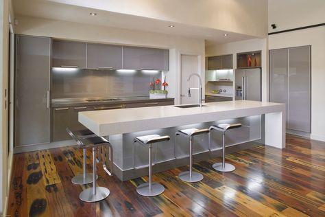 Koch Insel Theke Modulküche planen Design Ideen Küche - theke für küche