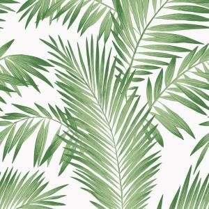 Arthouse Tropical Palm Paper Strippable Wallpaper Covers 57 Sq Ft 694800 The Home Depot Palm Wallpaper Palm Leaf Wallpaper Botanical Wallpaper