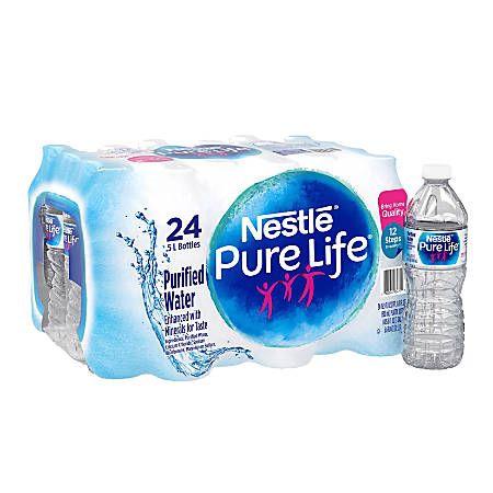 Nestl Pure Life Purified Bottled Water Nestle Pure Life Nestle Pure Life Water Pure Products