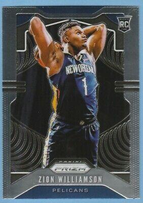 2019 20 Prizm 248 Zion Williamson Base Rookie Rc Pelicans Ebay In 2020 Basketball Cards Williamson Basketball Workouts