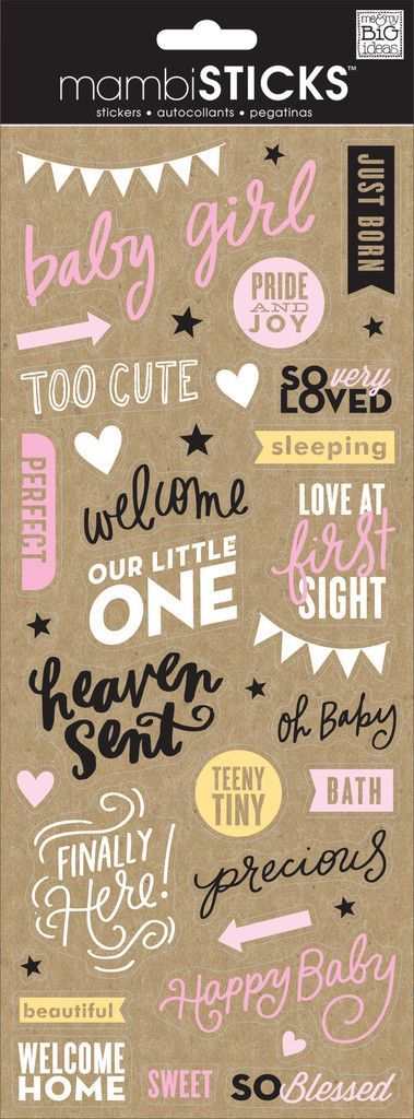 Just Born Baby Girl | Photo Editing | Pinterest | Scrapbook, Journal ...
