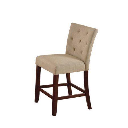 Alcott Hill Bannock Counter Height Upholstered Dining Chair Set Of 2 Dining Chairs Upholstered Dining Chairs Dining Chair Set