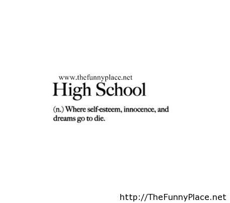 Quotes About High School Impressive High School Quotes  Tumblr  Quotes  Pinterest  High School . Review