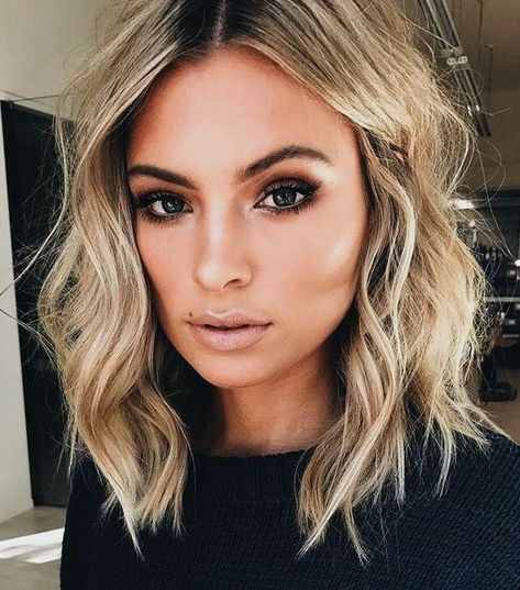 44 Stunning Haircut And Color Ideas For Medium Hair