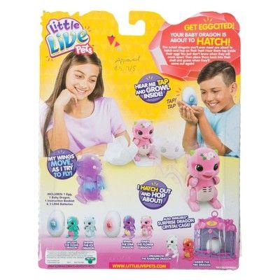 Little Live Pets Surprise Dragon Purple Pink Little Live Pets