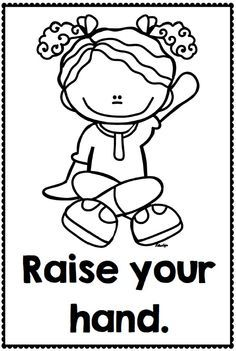 Rules Clipart Black And White Good Manners At School Clipart