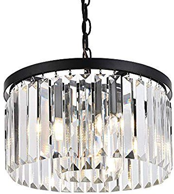 82 Cuaulans Modern Crystal Chandelier Semi Flush Mount Ceiling Light Fixt Flush Mount Ceiling Light Fixtures Modern Crystal Chandelier Pendant Light Fixtures