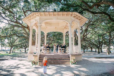 White Point Gardens In Charleston Sc