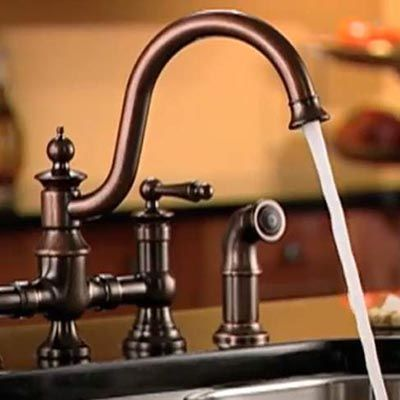 How To Install A Kitchen Faucet And Side Sprayer With Images