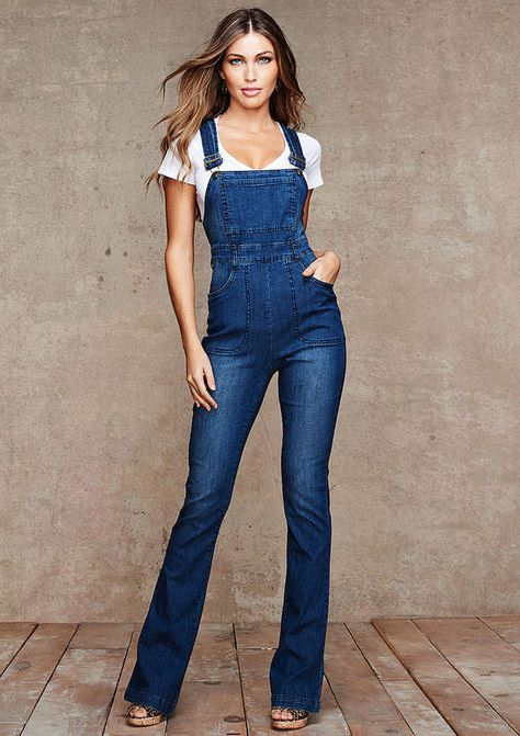 2661e11db78 Alloy Spoon Jeans Natalia Highwaist Denim Overall on shopstyle.com ...
