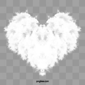 Heart Shaped Clouds Heart Shaped Clouds White Png Transparent Clipart Image And Psd File For Free Download Heart Hands Drawing Colorful Heart Heart Shapes