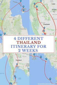 4 Thailand Itineraries For 2 Weeks