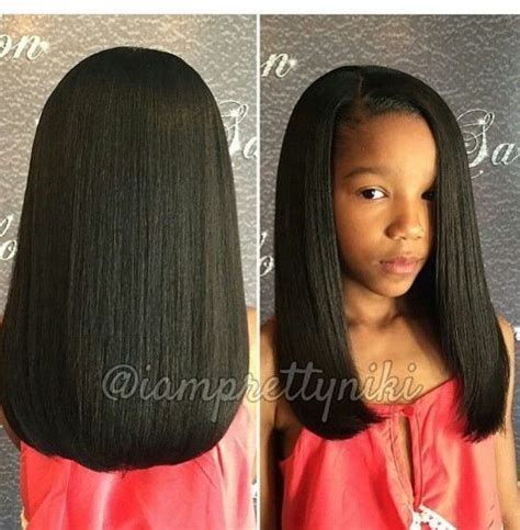 Image Result For Straight Crochet Hair For Little Girls Natural Hair Styles Black Kids Hairstyles Girl Hairstyles