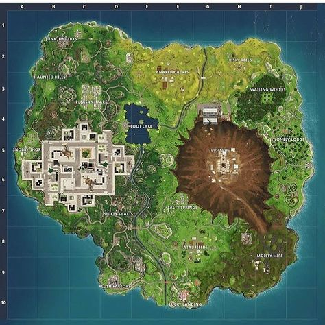 How the Map feels like now   #fortnite #fortnitegame #fortnitegaming