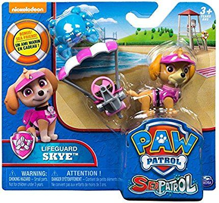 Amazon Com Paw Patrol Sea Patrol Lifeguard Skye Toys Games Paw Patrol Paw Patrol Figures Paw