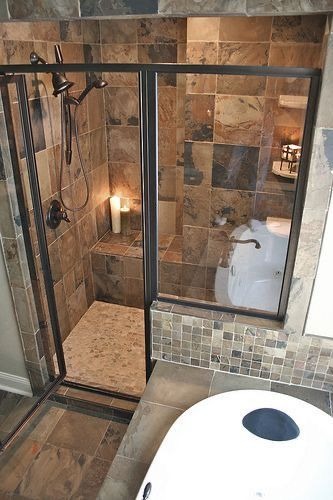 Rustic Bathrooms and American Shower