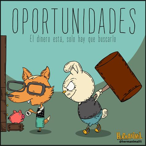 A veces las oportunidades están más cerca de lo que crees. #hermanos #maldad #dinero