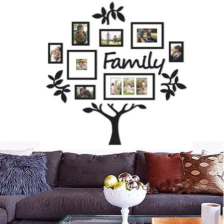 Home Improvement Family Tree Picture Frames Frames On Wall