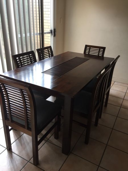 Dining Table Plus 6 Chairs Madang Setting Dining Tables