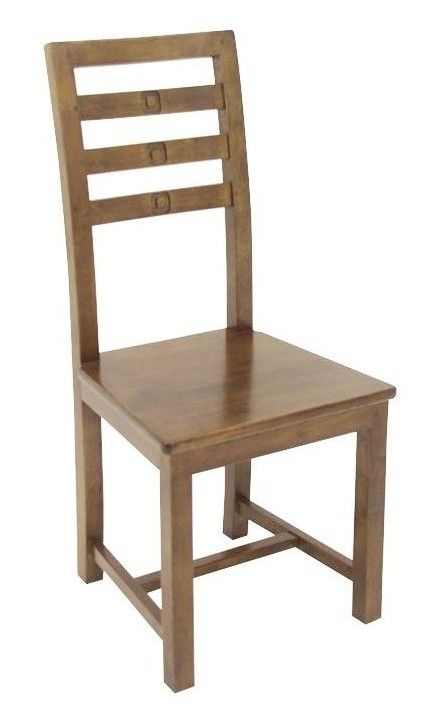 Chaise Exotique Hevea Tessa Chaise Bois Design Chaise Chaises Bois
