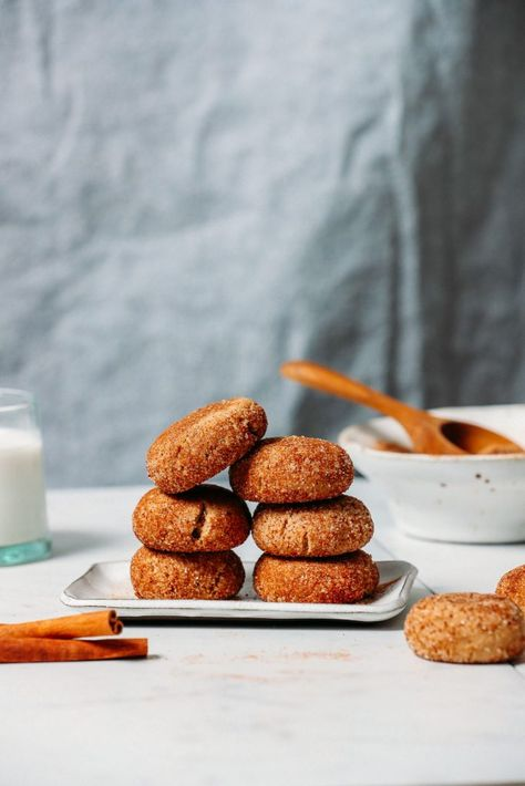 1 Bowl Snickerdoodle Cookies Vegan Gf Recipe Snicker
