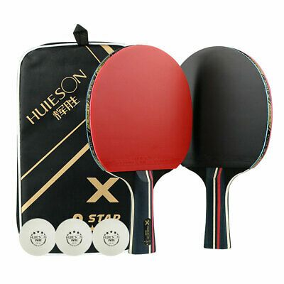 Advertisement Ebay Us 2pcs Professional Table Tennis Beginner Wood Racket Set Sports Ping Pong Bat Table Tennis Bats Table Tennis Racket Table Tennis