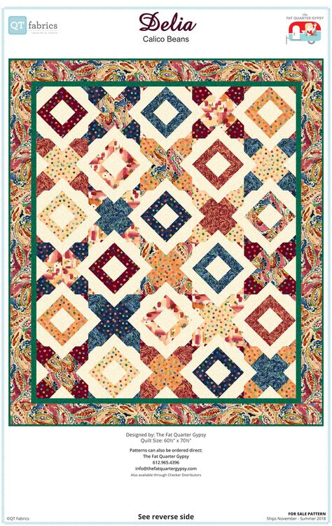 """85 4/""""  Whisper Calicoes Quilting Fabric Squares// Georgeous BUY IT NOW//NEW ITEM!!"""