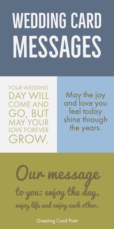 Wedding Card Wishes Quotes Greetings And Messages For The New Bride And Groom Great For Greeting Cards Facebook Posts Instagram Photo Captions And Mo Kartu
