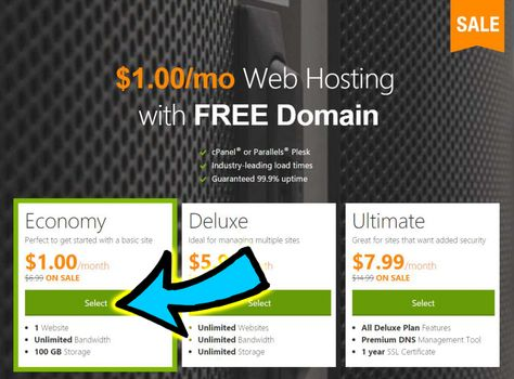 Pin On Dollar One Web Hosting