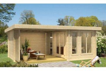 Abri De Jardin Orkney 9 70mm 8 8m Interieur 9 5m Avec Images Abri De Jardin Cabane Jardin Idees Jardin