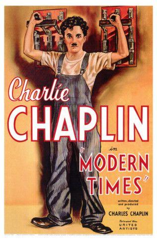 Modern Times, 1936 Premium Poster