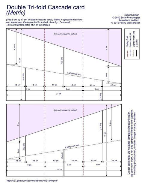 Dbl Tri-fold Cascade photo DoubleTri-foldCascadecard4x5jpg molde - sell sheet template