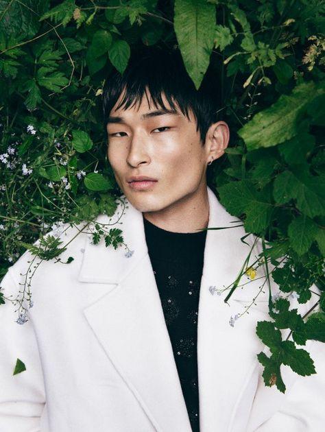 Sang Woo Kim para ELLE Man Vietnam por Oliver Yoan