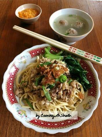 Resep Yamie Ayam Oleh Cooking With Sheila Resep Resep Makanan Cina Resep Masakan Indonesia Resep Masakan Asia