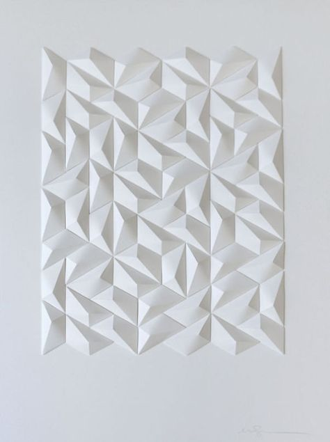 My Geometric Paper Art For Eight Emperors Paper Folding Art Paper Structure Paper Sculpture