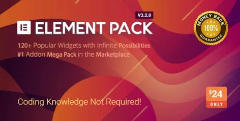 """""""Element Pack v3.2.2 – Addon for Elementor Page Builder"""