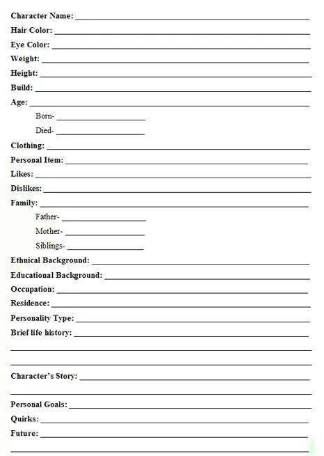 Best 25+ Character bio ideas on Pinterest Writing a bio, How to - biography template