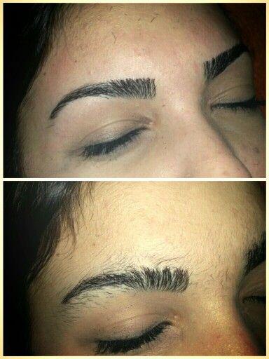 Depilarse las cejas antes y despues de adelgazar